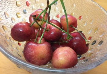 フルーツとアイス。